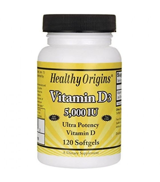 [Healthy Origins] VITAMIN D3 5,000IU