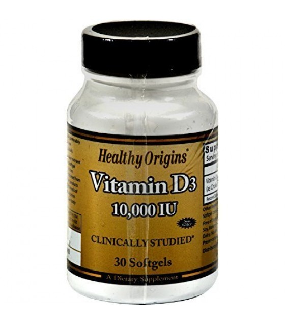 [Healthy Origins] VITAMIN D3,10,000IU