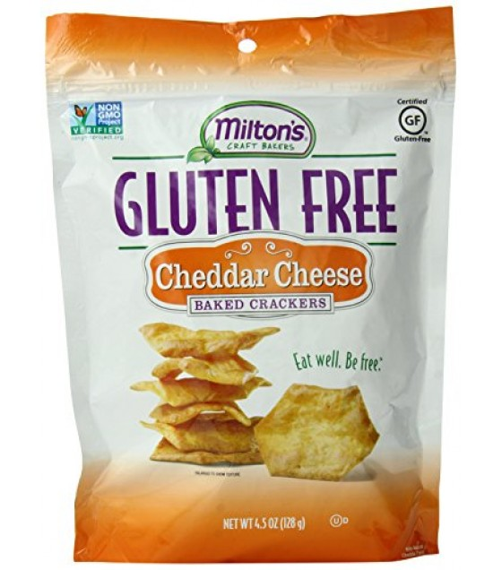 [Milton`S] Baked Crackers Cheddar, GF