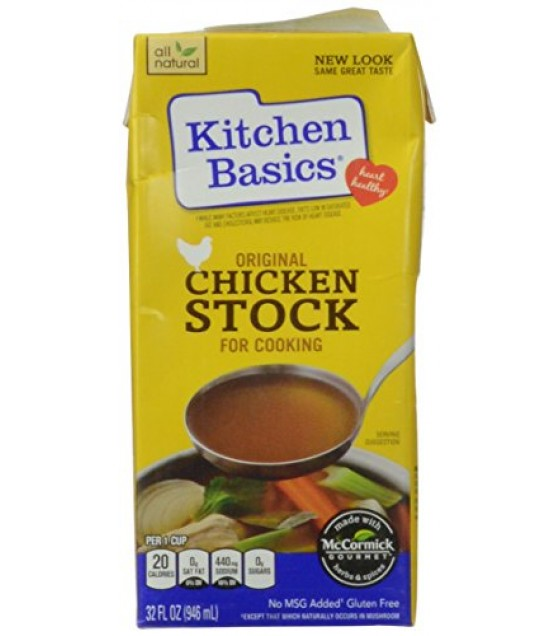 [Kitchen Basics] Soup/Stew/Boullion Can/Jar Stock, Chicken