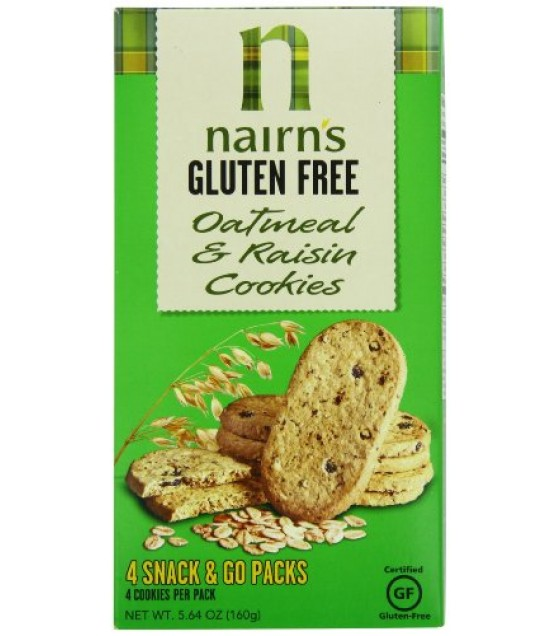 [Nairn`S] Cookies Oatmeal & Raisin, GF