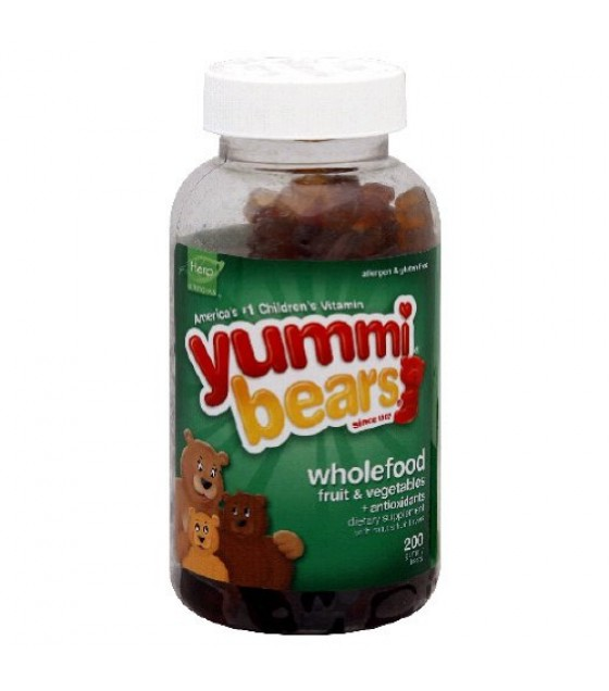 [Hero Nutritionals] Yummi Bears Whole Food Supplement