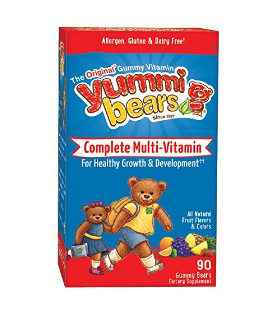 [Hero Nutritionals] Yummi Bears Multi Vitamin & Mineral