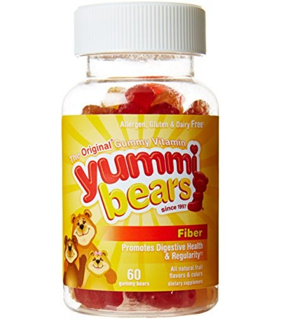 [Hero Nutritionals] Yummi Bears Fiber Supplement