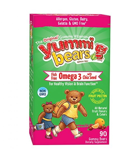 [Hero Nutritionals] Yummi Bears Omega 369 Yummi Bear