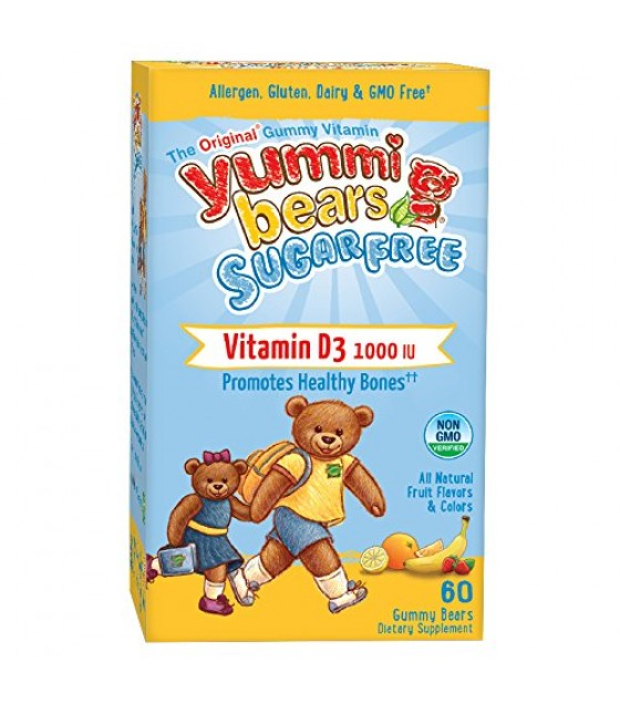 [Hero Nutritional Products] YUMMI BEAR,VIT D3,S/F