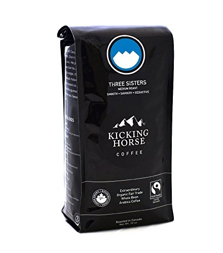 [Kicking Horse] Whole Bean Coffee Three Sisters  At least 95% Organic