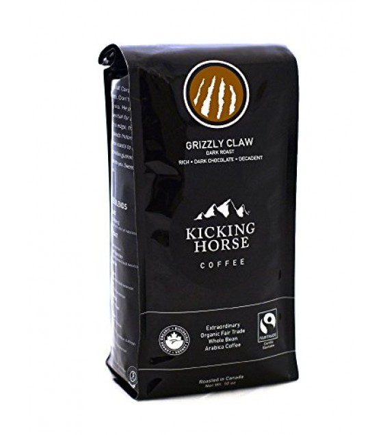 [Kicking Horse] Whole Bean Coffee Grizzly Claw  At least 95% Organic