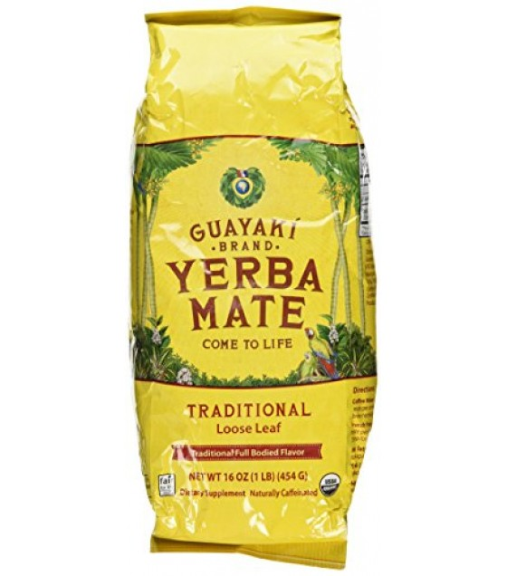 [Guayaki] Yerba Mate Traditional, Loose FT  100% Organic