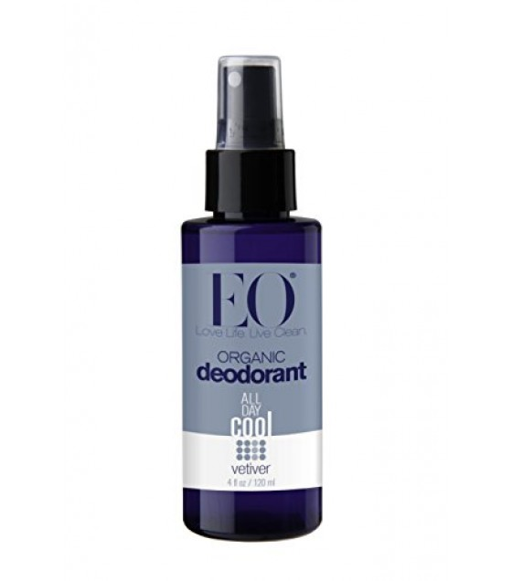 [Eo] Face & Body Mists Deodorant Spray, Vetiver  At least 95% Organic