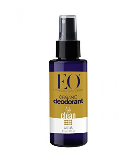 [Eo] Face & Body Mists Deodorant Spray, Citrus  At least 95% Organic
