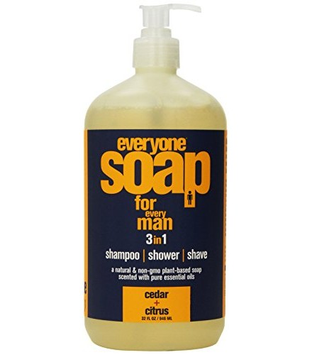 [Eo] Bath & Shower Gel Everyone Men, Cedar & Citrus