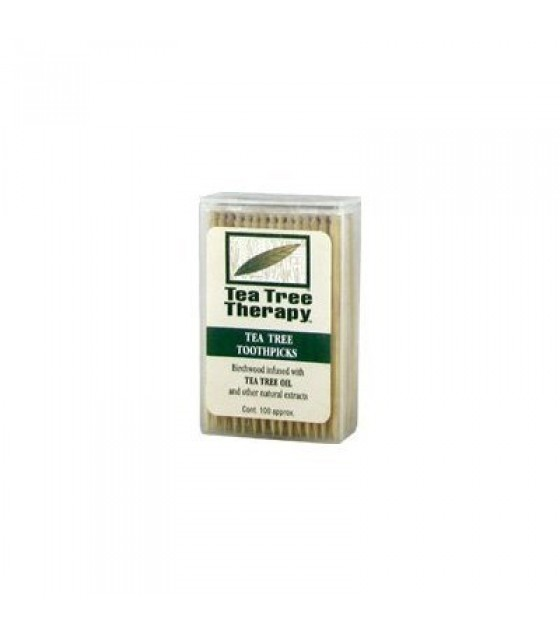 [Tea Tree Therapy, Inc.] Tea Tree Products Toothpicks