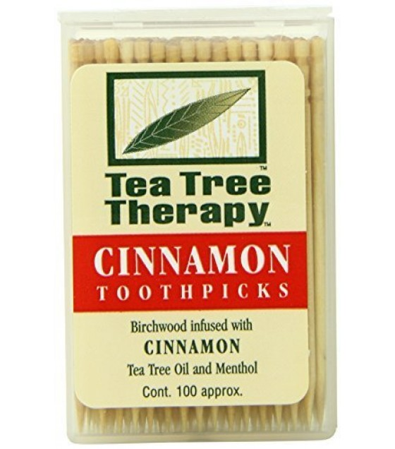 [Tea Tree Therapy, Inc.] Tea Tree Products Cinnamon Toothpicks