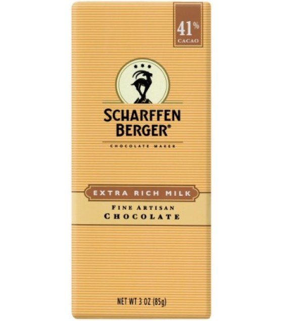 [Scharffen Berger] Candy, Chocolates (Domestic) Milk Chocolate 41% Cacao