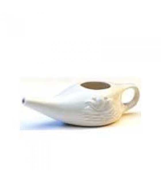[Himalayan Institute] Neti Products Neti Pot, Ceramic