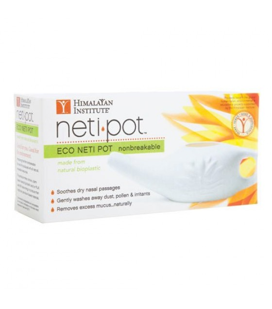 [Himalayan Institute] Neti Products Neti Pot, Bioplastic