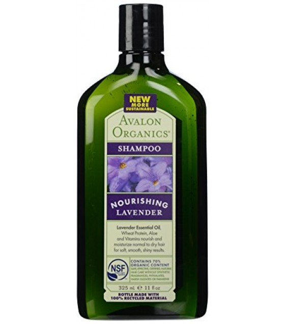 [Avalon Organics] Therapeutic Hair Care Shampoo, Lavender