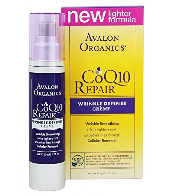 [Avalon Organics] Wrinkle Therapy with CoQ10 & Rosehip Day Creme
