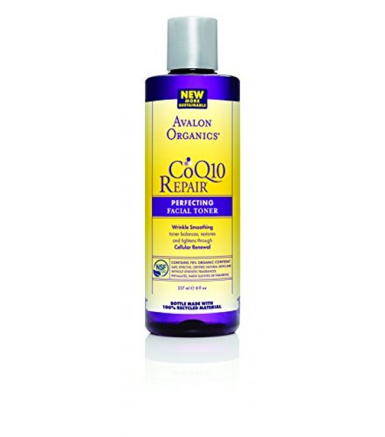 [Avalon Organics] Wrinkle Therapy with CoQ10 & Rosehip Perfecting Toner