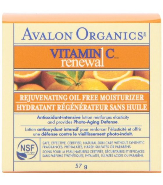 [Avalon Organics] Intense Defense with Vitamin C Oil-Free Moisturizer