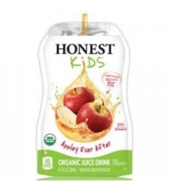 [Honest Kids] No Sugar Added Cartons Appley Ever After Juice  At least 95% Organic