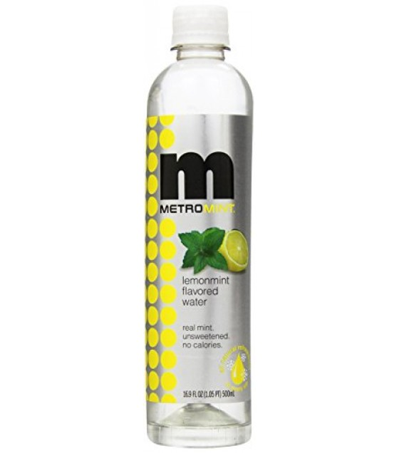 [Metro Mint]  Lemonmint Water