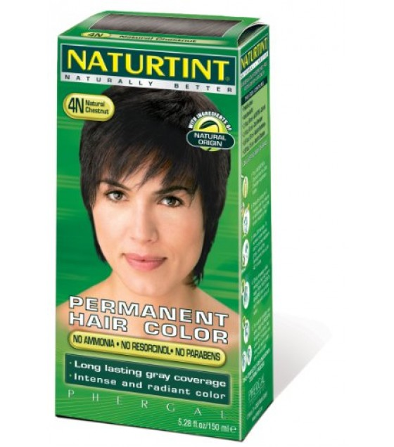 [Naturtint] Permanent Hair Colors (4N) Natural Chestnut