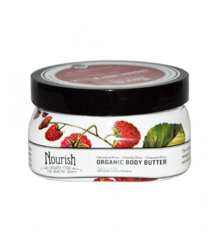 [Nourish]  Body Butter Wild Berry  At least 95% Organic