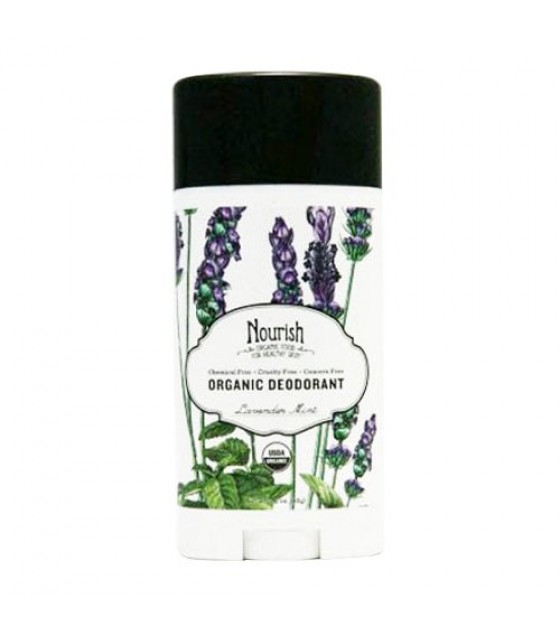 [Nourish]  Deodorant  Lavender Mint  At least 95% Organic