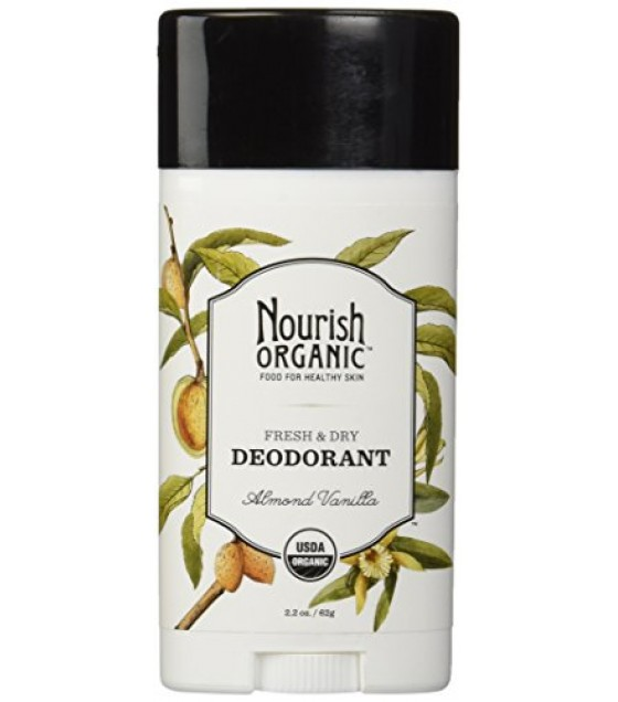 [Nourish]  Deodorant  Almond Vanilla  At least 95% Organic