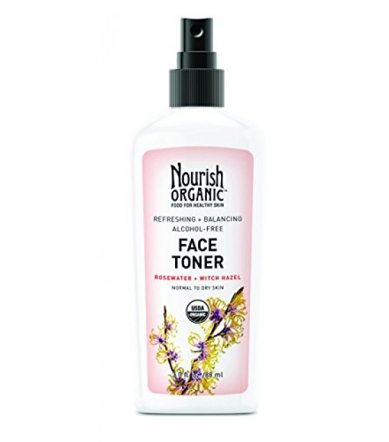 [Nourish]  Face Toner, Normal to Dry  At least 95% Organic