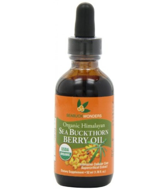[Seabuckwonders]  Sea Buckthorn Berry Oil  100% Organic