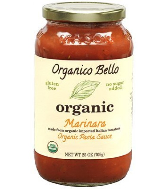 [Organico Bello] Pasta Sauce Marinara  At least 95% Organic