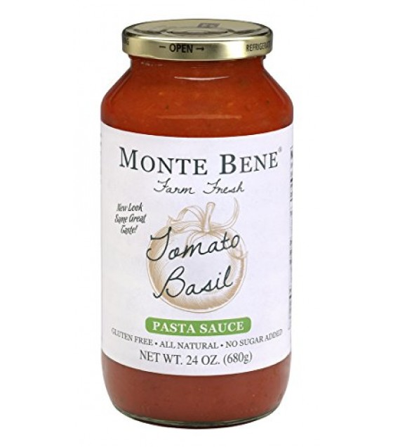 [Monte Bene] All Natural Pasta Sauces Tomato Basil