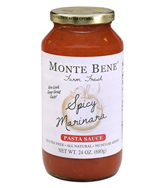 [Monte Bene] All Natural Pasta Sauces Spicy Marinara
