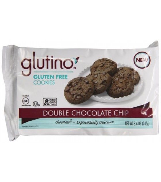 [Glutino] Cookies Double Chocolate Chip