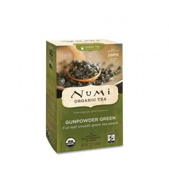 [Numi Tea] Green Teas Gunpowder  At least 95% Organic