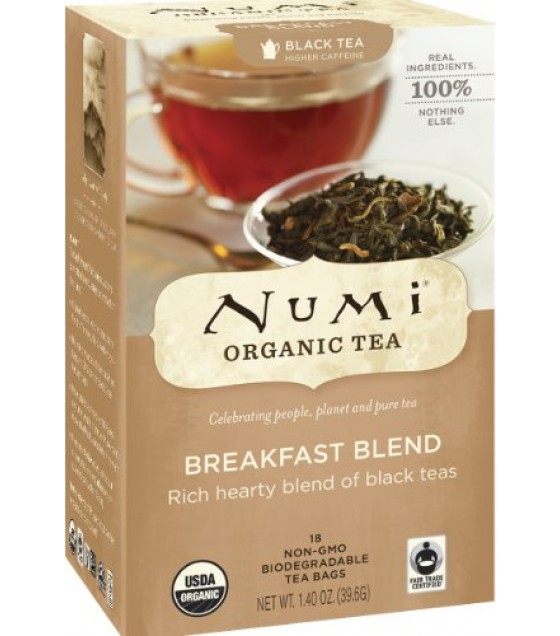 [Numi Tea] Black Teas Breakfast Blend  At least 95% Organic