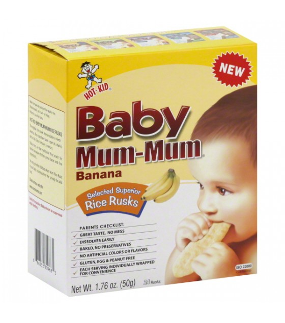 [Hot Kid] Mum-Mums Banana, Baby