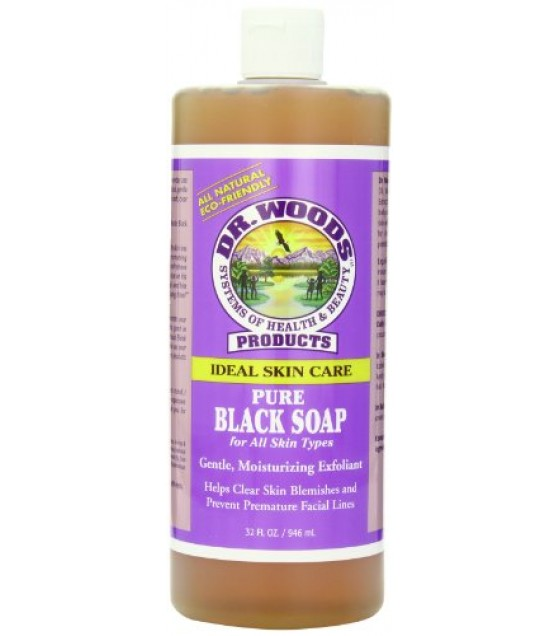 [Dr. Woods Soaps] Black Soaps Black Soap
