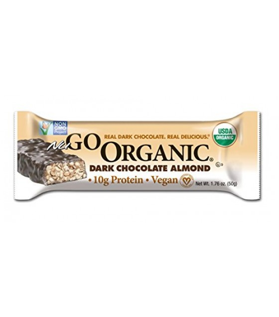 [Nugo] Organic Nutrition To Go Dark Chocolate Almond Bar  At least 95% Organic