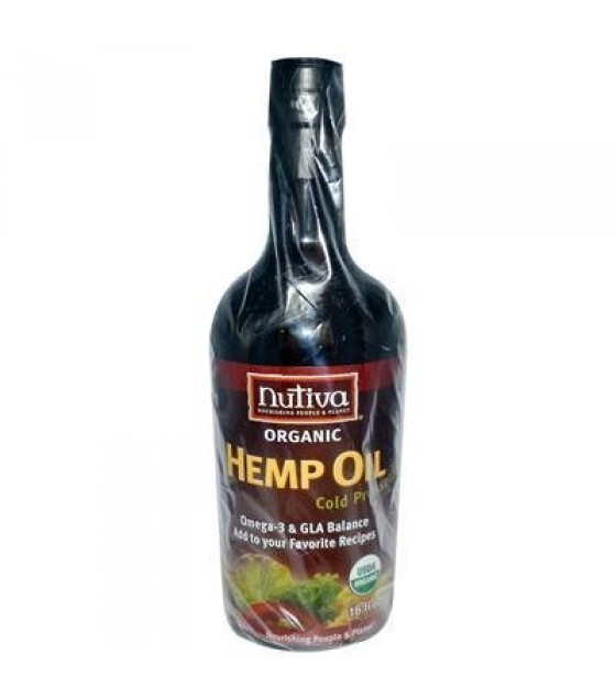 [Nutiva] Hempseed Oil Hempseed Oil  At least 95% Organic