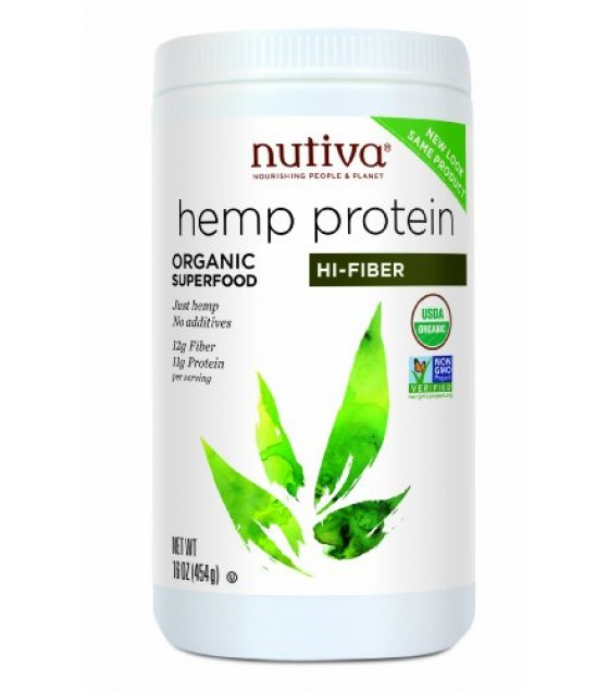 [Nutiva] Hempseed Products Hemp Protein 15g Protein  At least 95% Organic