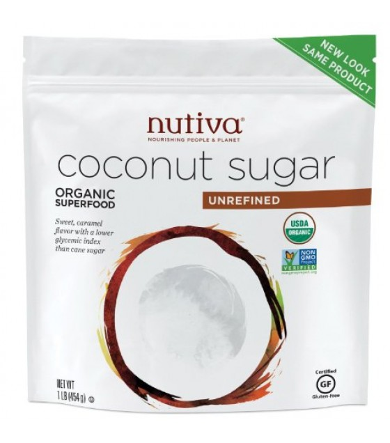 [Nutiva] Coconut Products Sugar, Unrefined  At least 95% Organic