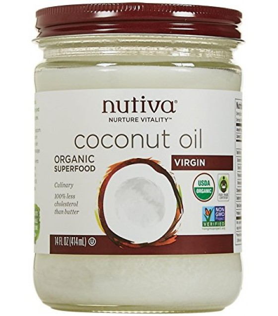 [Nutiva] Coconut Oil Extra Virgin  At least 95% Organic