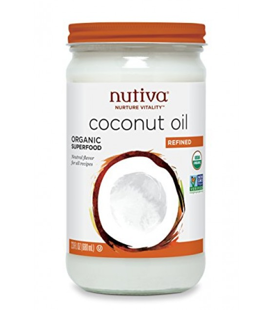 [Nutiva] Coconut Oil Refined  At least 95% Organic