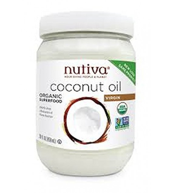 [nutiva] Organic Extra Virgin Coconut Oil