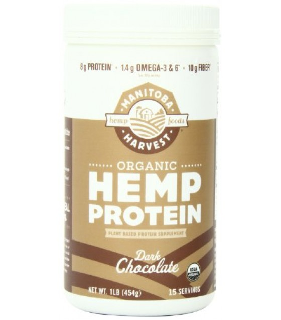 [Manitoba Harvest] Protein Powder Dark Chocolate  At least 95% Organic
