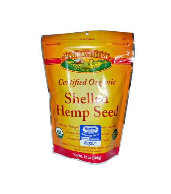 [manitoba Harvest] Organic Hemp Hearts; Shelled